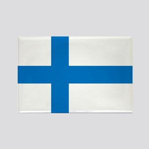 Finland Rectangle Magnet
