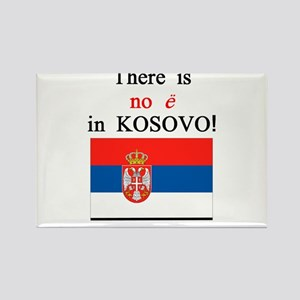 Kosovo is Serbia Rectangle Magnet