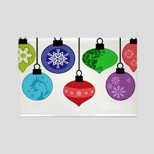Christmas Ornaments Rectangle Magnet