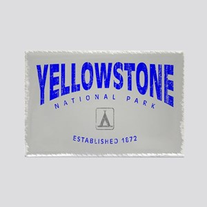 Yellowstone National Park (Arch) Rectangle Magnet