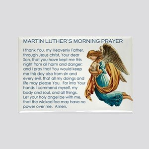 Luther's Morning Prayer Magnet