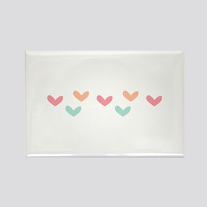 Hearts Border Magnets