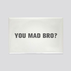 You mad bro-Akz gray Magnets