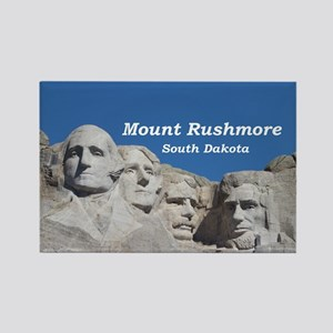 Mount Rushmore Rectangle Magnet