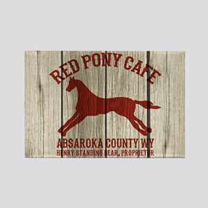 Red Pony Cafe Longmire Magnets