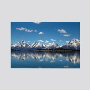 GRAND TETON - JACKSON LAKE Rectangle Magnet