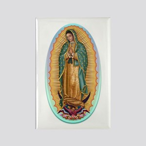 Virgin Guadalupe Rectangle Magnet
