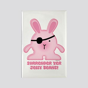 Pirate Bunny Rectangle Magnet
