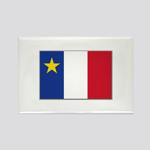 Flag of Acadia Rectangle Magnet