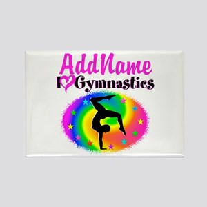GYMNAST STAR Rectangle Magnet