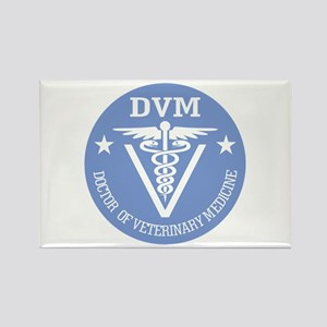 Caduceus DVM (Doctor of Veterinary Science) Magnet