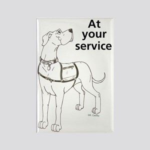 Service Dog In Training Magnets Cafepress