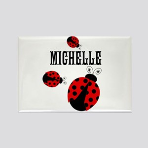 Cute Red | Black Ladybugs Name Magnets