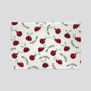 Little Red Ladybugs Magnets