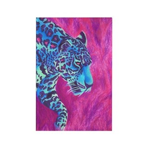 Colorful Cat Painting Magnets Cafepress