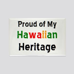 hawaiian heritage Rectangle Magnet