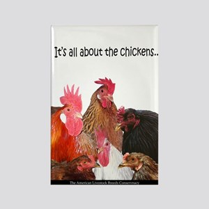 """It's All...chickens..."" Rectangle M"