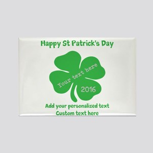 St Patricks Day Personalized Magnets
