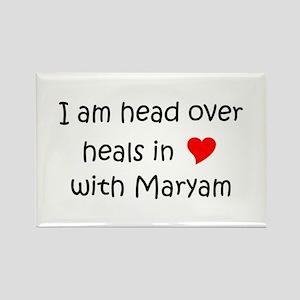 Maryam Name Magnets - CafePress