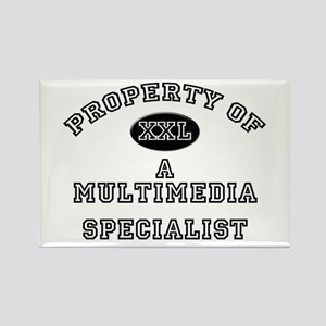Property of a Multimedia Specialist Rectangle Magn