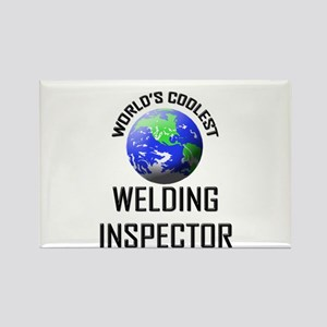 World's Coolest WELDING INSPECTOR Rectangle Magnet