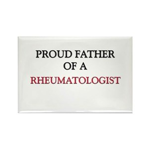 Proud Father Of A RHEUMATOLOGIST Rectangle Magnet