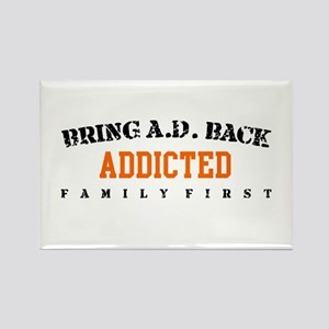 Addicted - Save The Bluths Rectangle Magnet