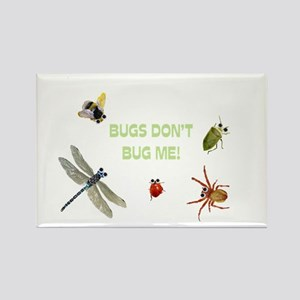 Cute bugs Rectangle Magnet