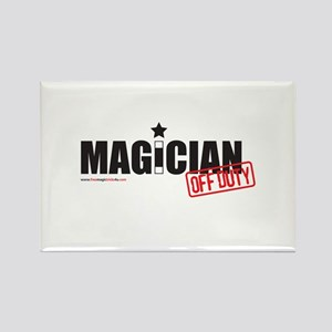 Magician Off Duty Rectangle Magnet