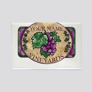 Your Vineyard Rectangle Magnet
