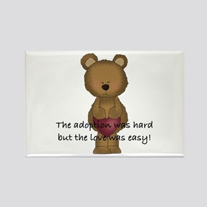 Adoption Bear Rectangle Magnet