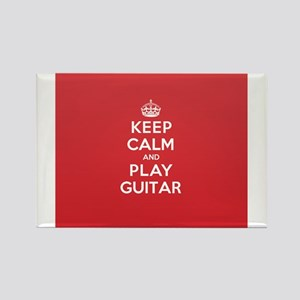 Keep Calm Play Guitar Magnets