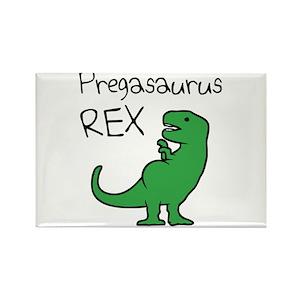 6ab0bfd83d3d6 Pregasaurus Rex Magnets - CafePress
