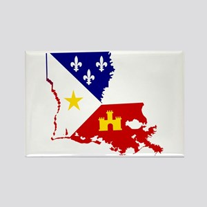 Acadiana State of Louisiana Magnets