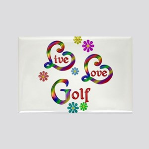 Live Love Golf Magnets