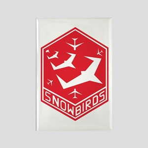 SNOWBIRDS Rectangle Magnet