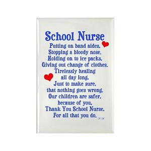 74e4eb48e8 Nurse Magnets - CafePress