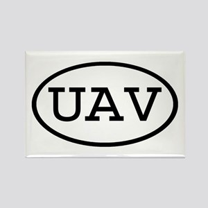 UAV Oval Rectangle Magnet