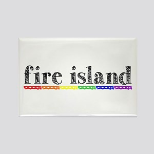 Fire Island Rectangle Magnet