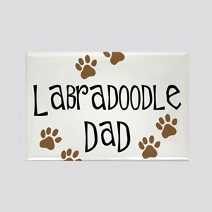 Labradoodle Dad Rectangle Magnet