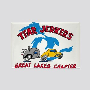 Rectangle Magnet - Great Lakes Tear Jerkers