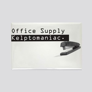 Office Supply Kleptomaniac Rectangular Magnet