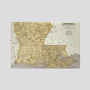 Louisiana Map Magnets - CafePress on map accessories, map books, map pamphlets, map buttons, map pencils, map room decor, map puzzles, map name tags, map furniture, map post cards, map games, map throw blanket, map tools, map dry erase board, map paper, map lettering, map science projects, map invitations, map wall graphic, map watches,