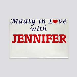 Madly in Love with Jennifer Magnets