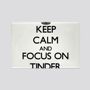 Keep Calm by focusing on Tinder Magnets