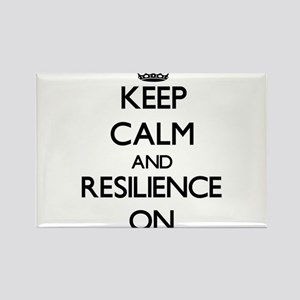 Keep Calm and Resilience ON Magnets