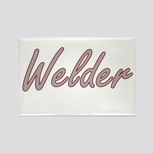 Welder Artistic Job Design Magnets