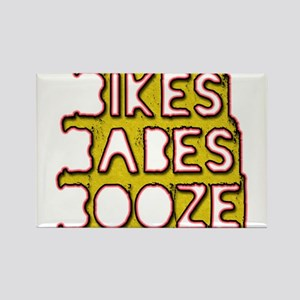 bikes babes and booze Magnets