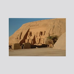 Abu Simbel Rectangle Magnet