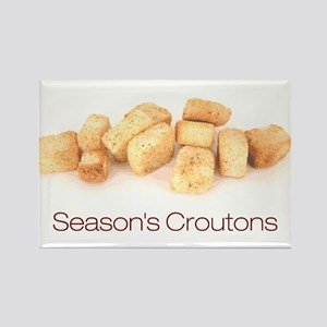 Season's Croutons Rectangle Magnet